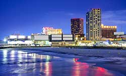 Atlantic City was approved for legalized gambling in 1976. The first legal casino opened in 1978.