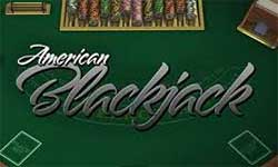 In American Blackjack the dealer gets 2 cards - one open and one hidden.