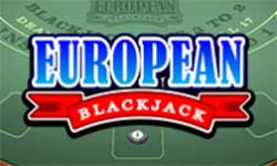 In European Blackjack there is no Surrender option and you can only double down on 9,10 or 11.