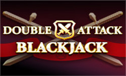 Double Attack Blackjack is a blend between Spanish 21 and Classic Blackjack.