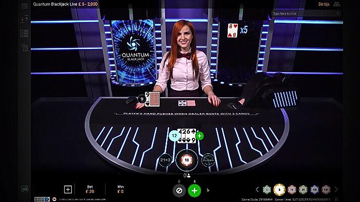 Quantum Blackjack Rules and Gameplay