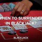 Surrender Rule Blackjack